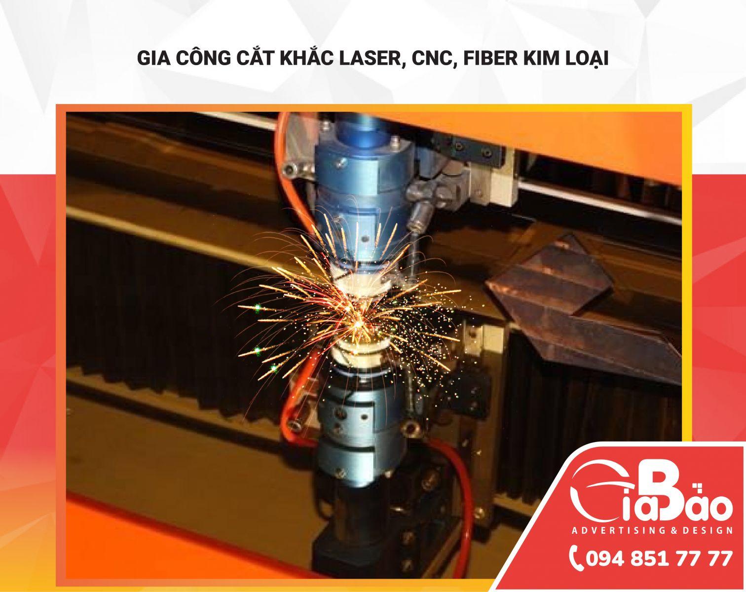 Gia công cắt khắc Laser, CNC, Fiber tại Đăk Lăk - Đăk Nông